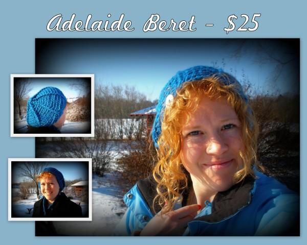Adelaide Beret - $25