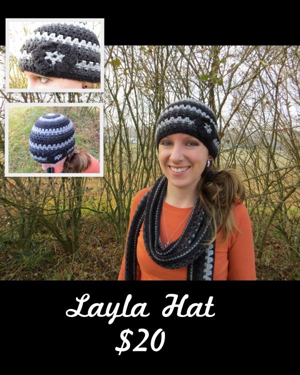 Layla Hat - $20