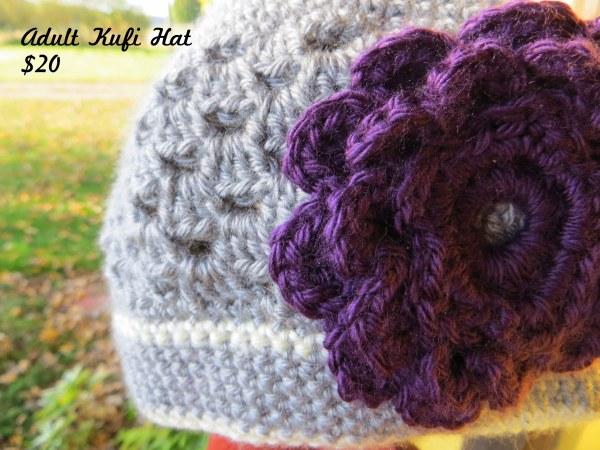Adult Kufi Hat - $20