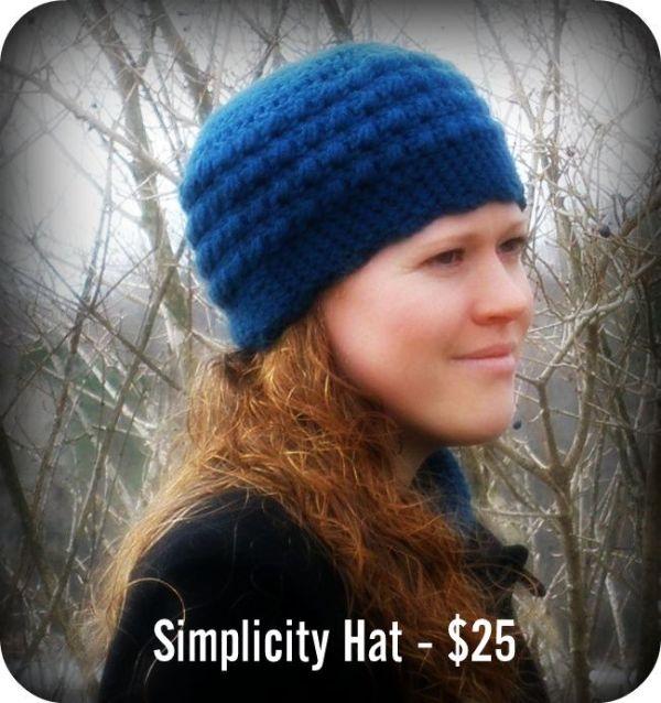 Simplicity Hat - $25