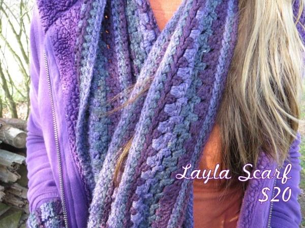 Purple Layla Scarf