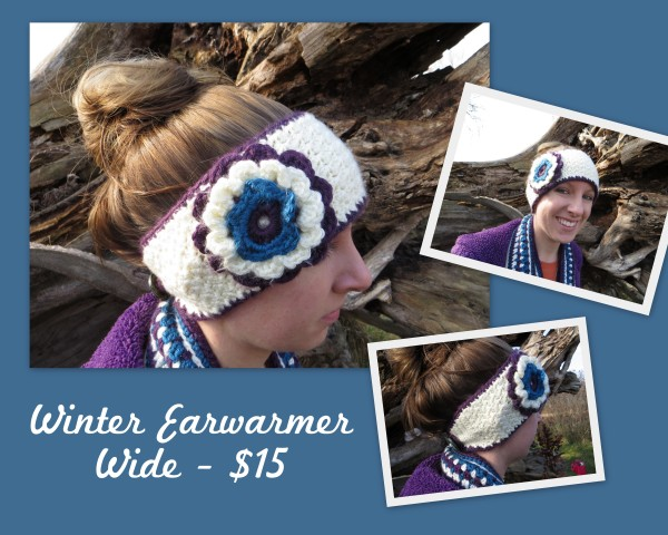 Wide Winter Earwarmer - $15