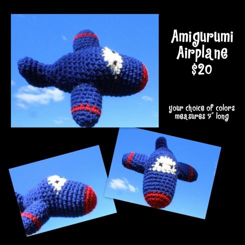 Amigurumi Airplane
