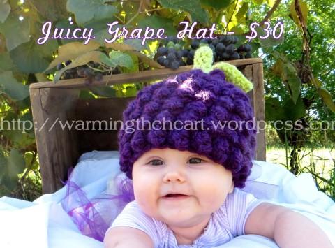Juicy Grape Hat Alyss Price