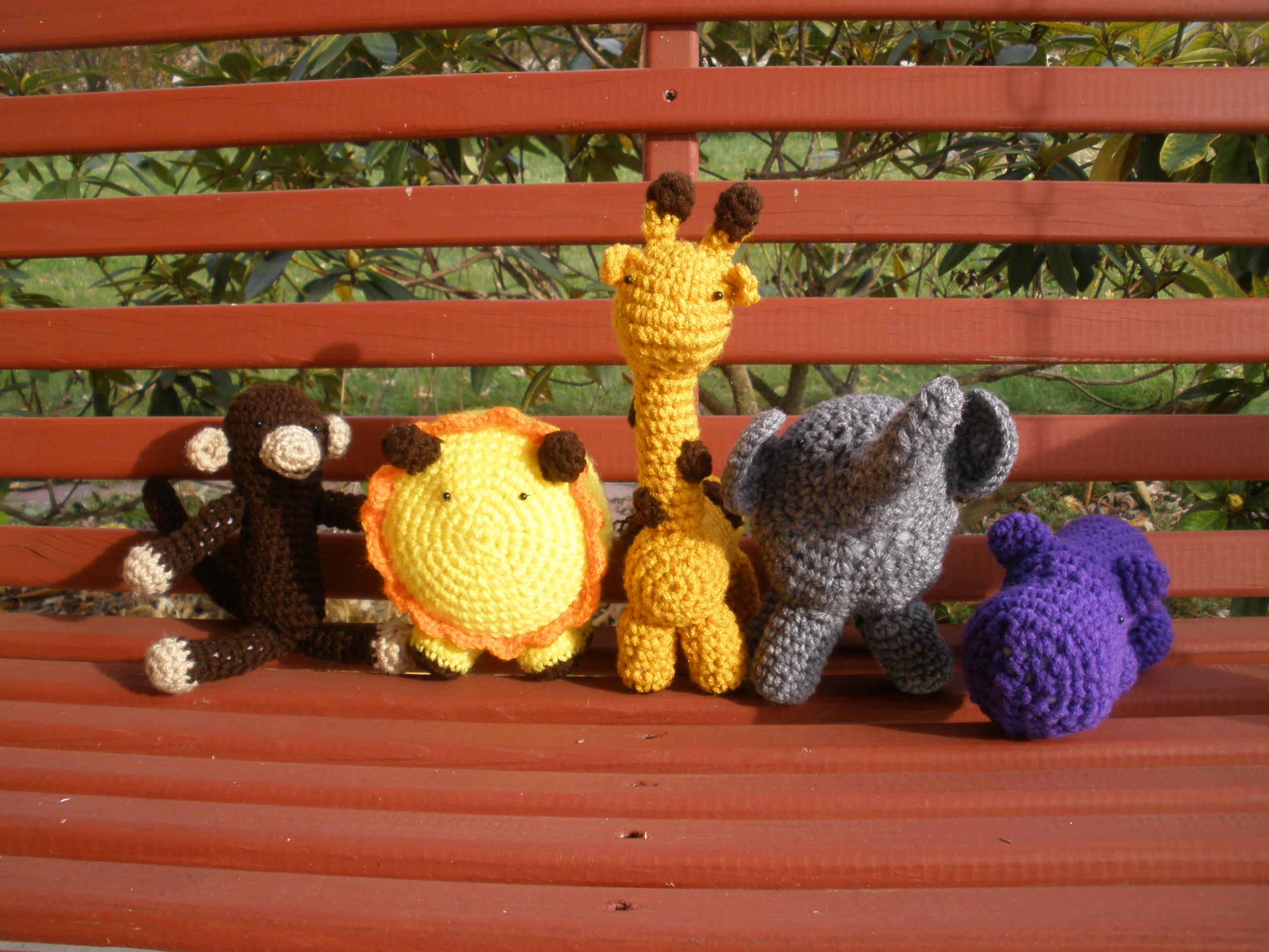 Amigurumi Big Animals : New Item! Amigurumi Animals Warming the Heart