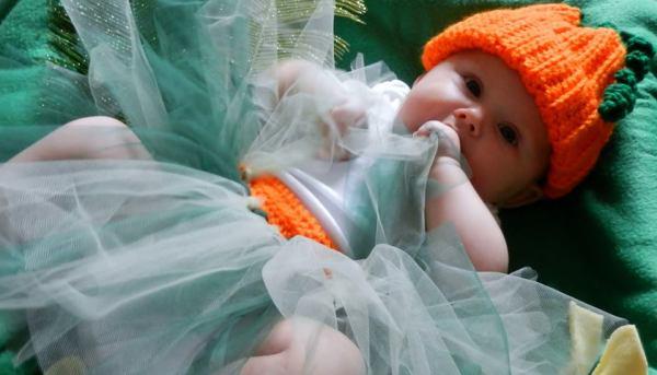 Pumpkin Hat and Tutu 1