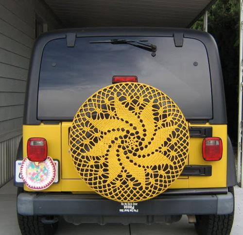 car doily